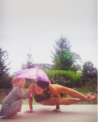 lily umbrella
